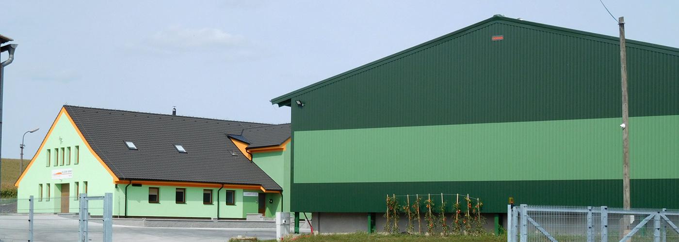 Moderně vybavené středisko